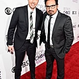 Pictured: Dax Shepard and Michael Peña