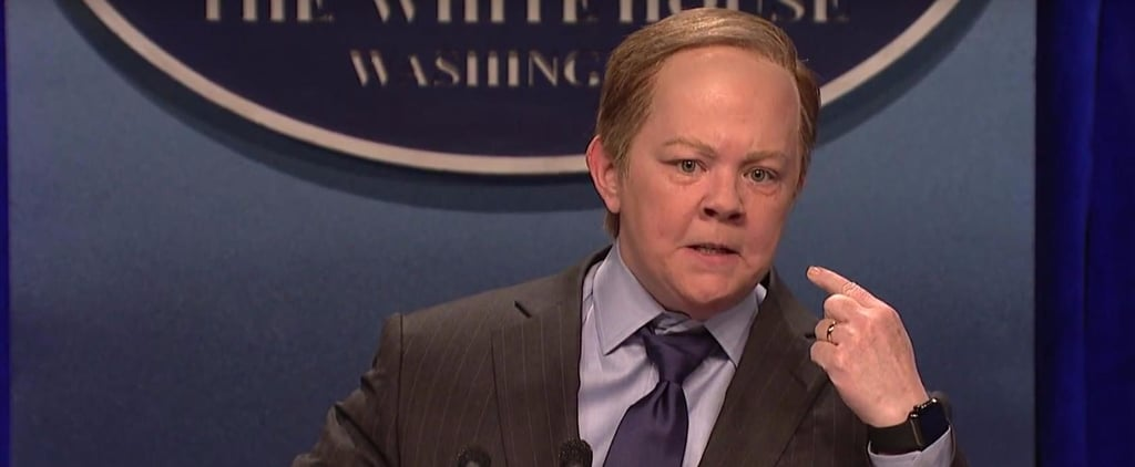 Here's How Melissa McCarthy Ended Up Playing Sean Spicer on SNL
