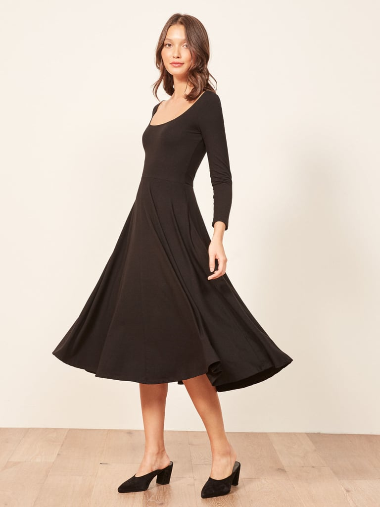 Reformation Fall Dress With Pockets