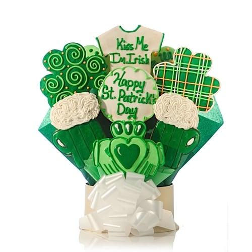 Kiss Me I'm Irish Cookie Bouquet