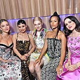 Sydney Sweeney, Alexa Demie, Hunter Schafer, Taylor Russell, and Maude Apatow