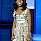 Kerry Washington presented an award at the Emmys.