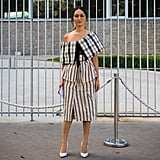 Nicole Warne does stripes and checks with just the right flair.