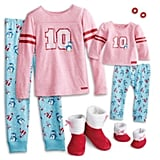 Holiday Penguin PJs for Girls and 18-inch Dolls