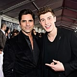 Shawn Mendes was stoked to meet John Stamos.