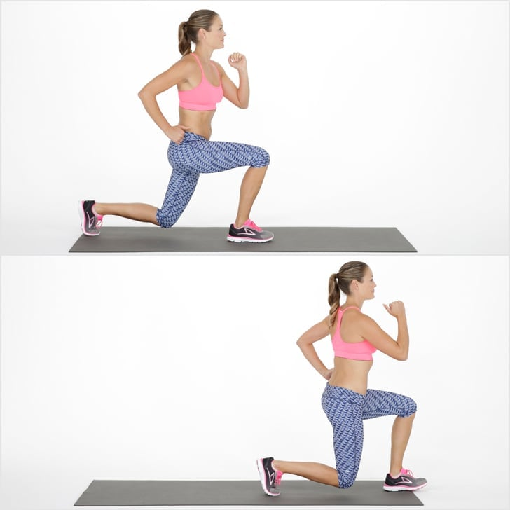 Triset 2, Exercise 1: Walking Lunge