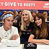 Justin Bieber, Gwen Stefani, and Sofia Vergara