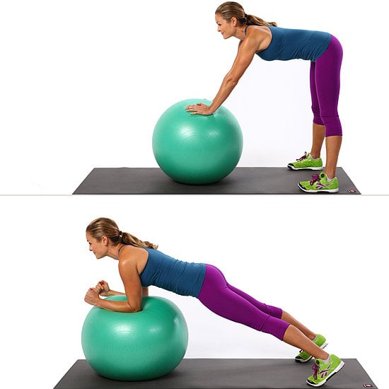 Ab Exercise Using an Exercise Ball