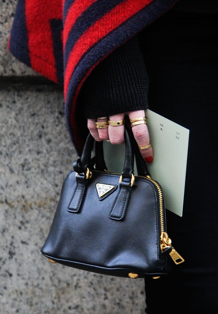 Is there anything cuter than a Prada micromini bag?!
