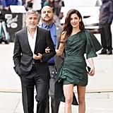 Amal Clooney With George Clooney in LA