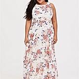 Torrid Floral Georgette Maxi Dress