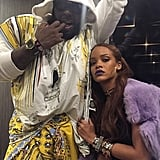 Yusef and Rihanna Buddied Up at Coachella