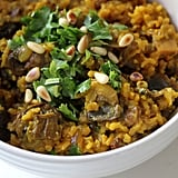 Vegetarian Mains: Mushroom Pilaf