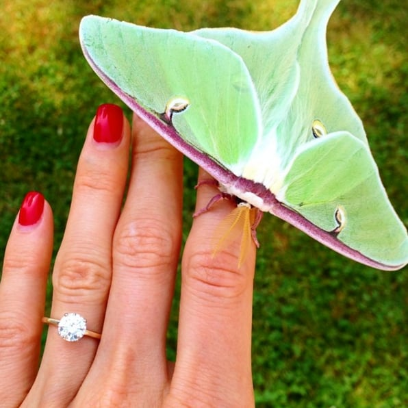 "The Most Stylish ""OMG I'm Engaged!"" Wedding Ring Instagrams — Ever"