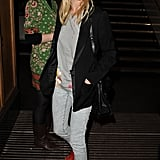 On another occasion, this time in London, Kate Bosworth showed off her red studded Chloé boots with acid-wash jeans.