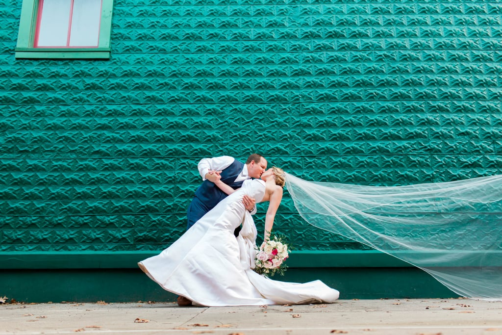 This Bride Actually Got Down at Her Wedding and Did the Worm in Her Gown