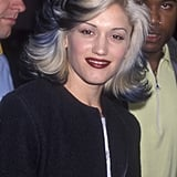 Gwen Stefani With Blond and Black Hair