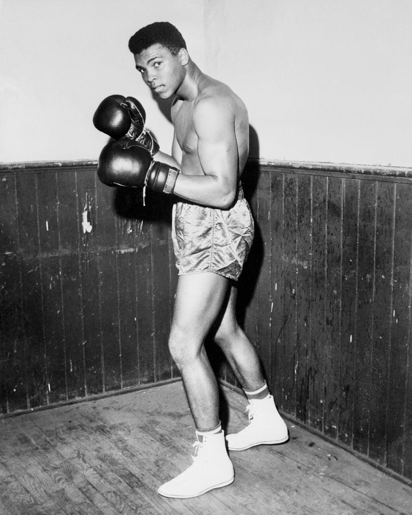 Cassius Clay, aka Muhammad Ali