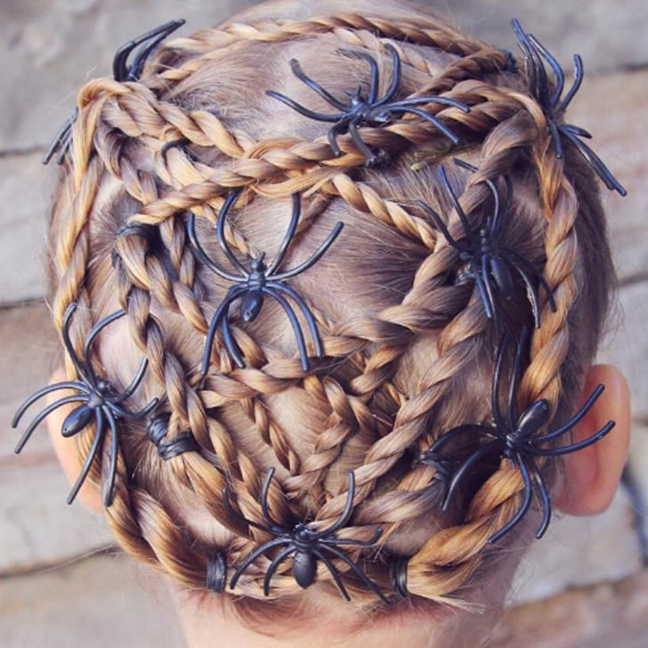 Halloween Braid Hairstyles For Kids | POPSUGAR Moms