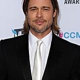 Brad Pitt was handsome in LA.