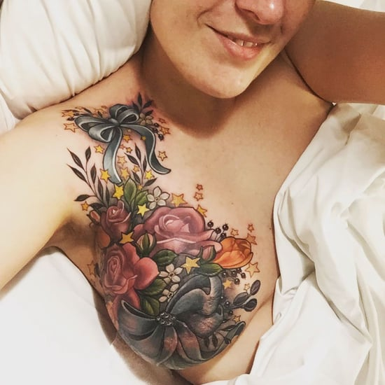 Flower Mastectomy Tattoos