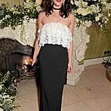 Jessica Brown Findlay at the British Vogue and Tiffany & Co. Fashion and Film Party