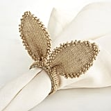 Burlap Bunny Ears Napkin Ring ($3, originally $4)
