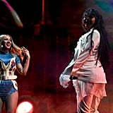 Selena Gomez and Cardi B Performance at Coachella 2019