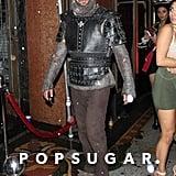Gerard Butler as a Knight