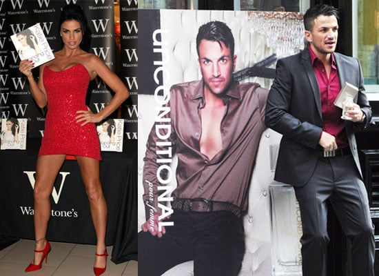 Photos of Katie Price Book Signing Peter Andre Perfume Launch