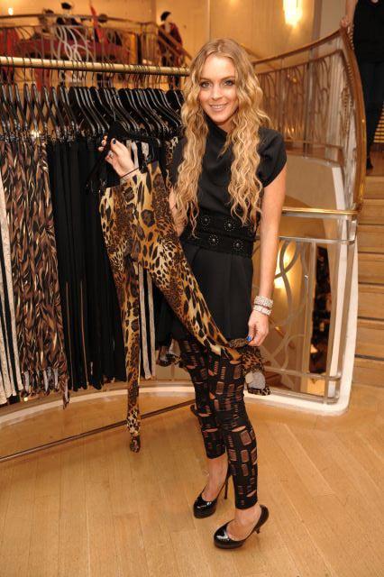 Lindsay Wearing the Star Legging, Holding the Gable Legging