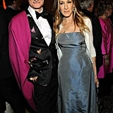 Sarah Jessica Parker and Hamish Bowles attended the Carnegie Hall Medal of Excellence gala at NYC's Waldorf-Astoria.