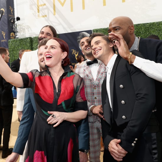 Queer Eye Fab Five With Other Celebrities at the 2018 Emmys