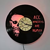 American Horror Story Vintage  Vinyl Record Clock