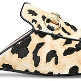 Gucci Princetown Leopard Calf-hair Slippers