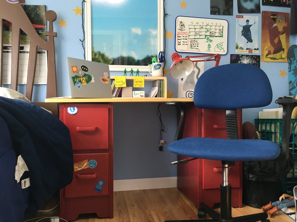 The Desk RealLife Replica of Andys Room From Toy Story