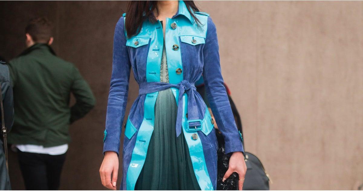 Blue On Blue Outfit Inspiration For Spring 2015 Popsugar