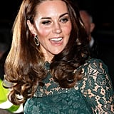 Kate Middleton's Green Temperley Gown