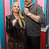 Jessica Simpson's fiancé, Eric Johnson, became a dad for the first time, celebrating the birth of baby girl Maxwell Drew in May 2012.