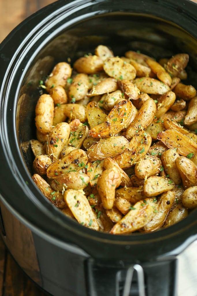Slow-Cooker Greek Potatoes
