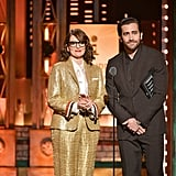 Tina Fey and Jake Gyllenhaal