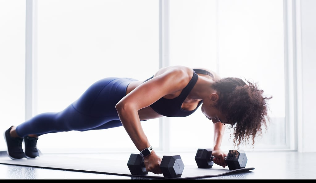 45-Minute Full-Body Dumbbell HIIT Workout