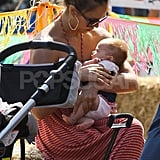 Jessica Alba gave Haven Warren extra TLC.