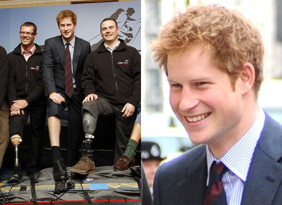 Photos of Prince Harry at Walking Wounded