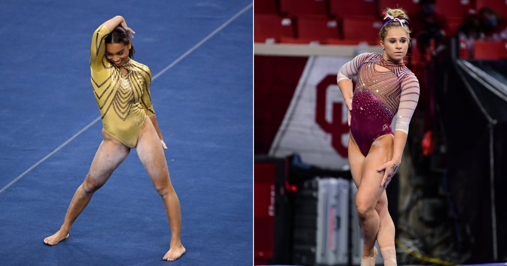 College Gymnastics Routines Set to Popular Songs