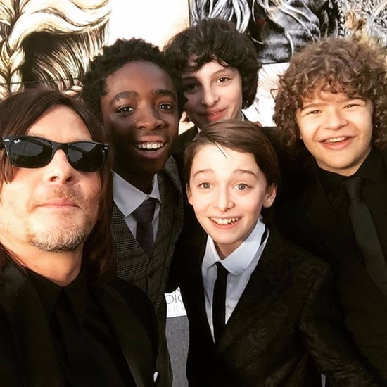 Stranger Things Instagrams at Critics' Choice Awards 2017