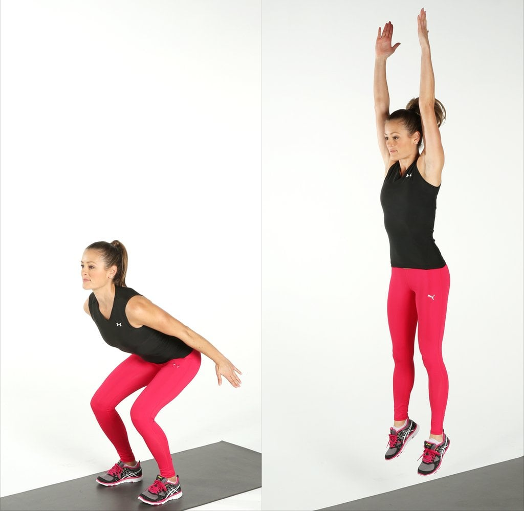 Straight Jump | Get Dakota Johnson's Fifty Shades Workout, Straight From Her Trainer | POPSUGAR Fitness Photo 2