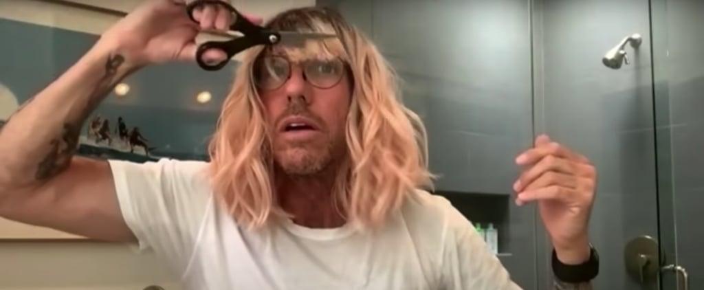 Celeb Hairstylist Chris McMillan Shares At-Home Haircut Tips