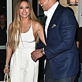 Jennifer Lopez All White Outfit July 2017