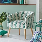 Drew Barrymore Flower Home Vintage Palm Barrel Accent Chair